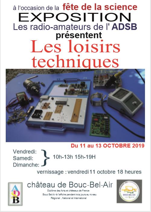 Affiche de l'exposition Loisirs techniques