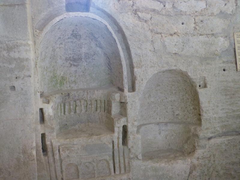 Sortie provençale du 20 septembre. Abbaye de Saint Romans